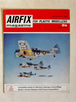 AIRFIX  AIRFIX MAGAZINE 1968 SEPTEMBER