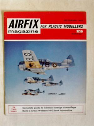 AIRFIX  AIRFIX MAGAZINE 1968 SEPTEMBER