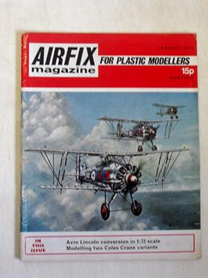 AIRFIX  AIRFIX MAGAZINE 1972 JAN