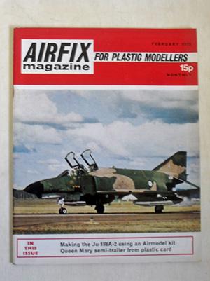AIRFIX  AIRFIX MAGAZINE 1972 FEBRUARY