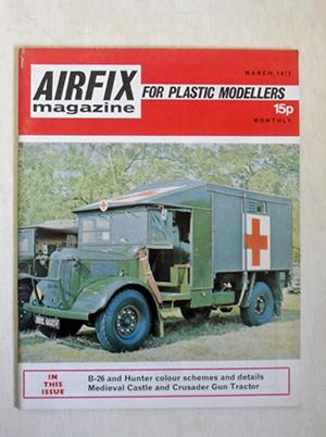 AIRFIX  AIRFIX MAGAZINE 1972 MARCH
