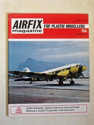 AIRFIX  AIRFIX MAGAZINE 1972 APRIL