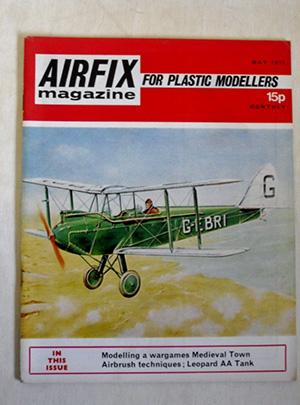 AIRFIX  AIRFIX MAGAZINE 1972 MAY