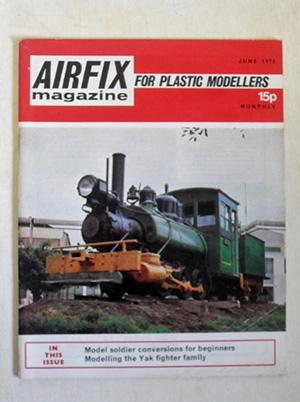 AIRFIX  AIRFIX MAGAZINE 1972 JUNE