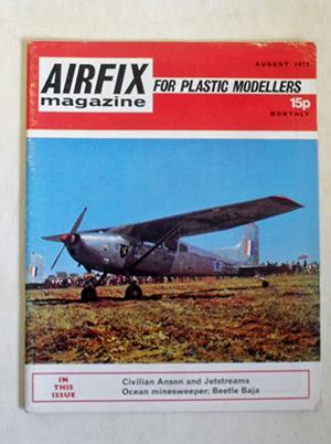 AIRFIX  AIRFIX MAGAZINE 1972 AUGUST