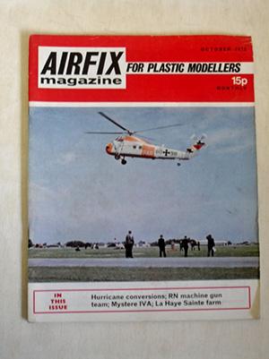 AIRFIX  AIRFIX MAGAZINE 1972 OCTOBER