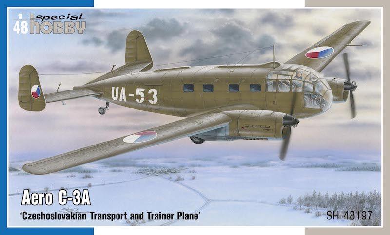 SPECIAL HOBBY 1/48 48197 AERO C-3A
