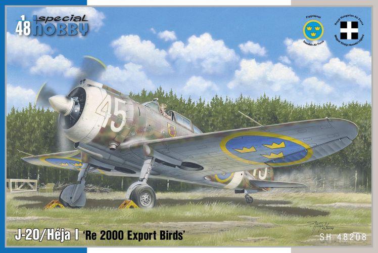 SPECIAL HOBBY 1/48 48208 J-20/ HEJA I RE 2000 EXPORT BIRDS