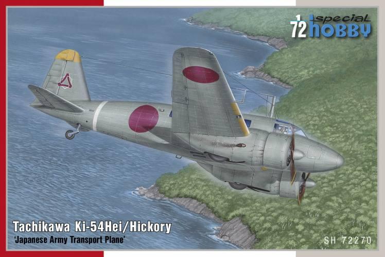 SPECIAL HOBBY 1/72 72270 TACHIKAWA KI-54HEI/ HICKORY