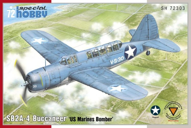 SPECIAL HOBBY 1/72 72303 SB2A-4 BUCCANEER