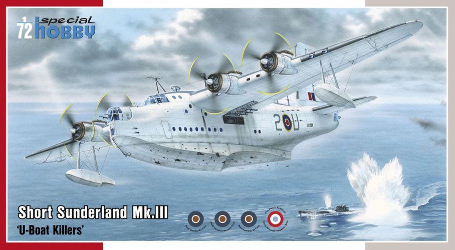 SPECIAL HOBBY 1/72 72304 SHORT SUNDERLAND MK.III U-BOAT KILLERS