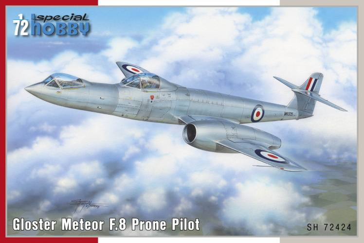 SPECIAL HOBBY 1/72 72424 GLOSTER METEOR F.8 PRONE PILOT