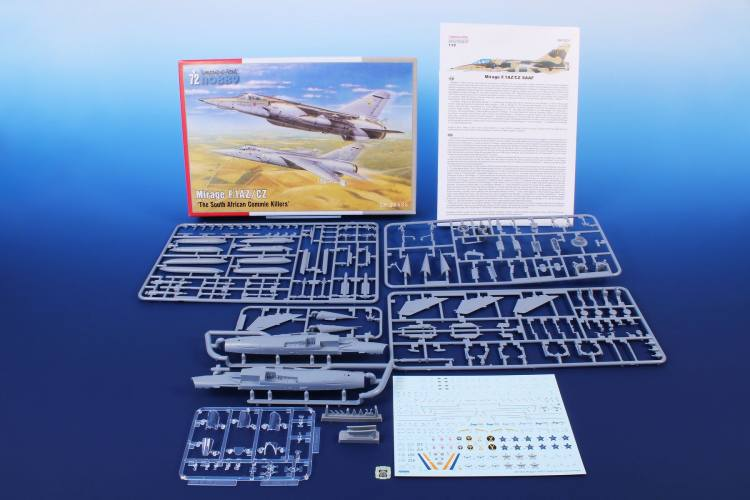SPECIAL HOBBY 1/72 72435 MIRAGE F.1AZ/CZ THE SOUTH AFRICAN COMMIE KILLERS