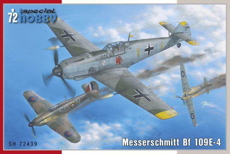 SPECIAL HOBBY 1/72 72439 MESSERSCHMITT BF109E-4