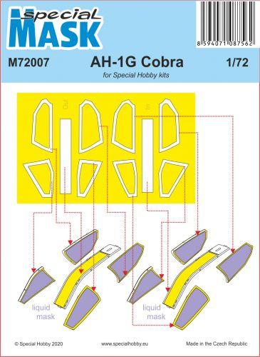 SPECIAL MASK 1/72 72007 AH-1G COBRA