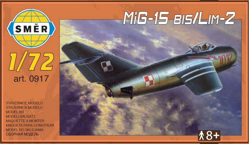 SMER 1/72 0917 MIKOYAN MIG-15 BIS/LIM-2