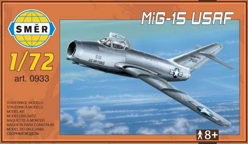 SMER 1/72 0933 MIG-15 USAF