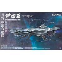 SUYATA 1/700 SRK003 SPACE RENGO KANTAI - SPACE SUBMARINE I-400
