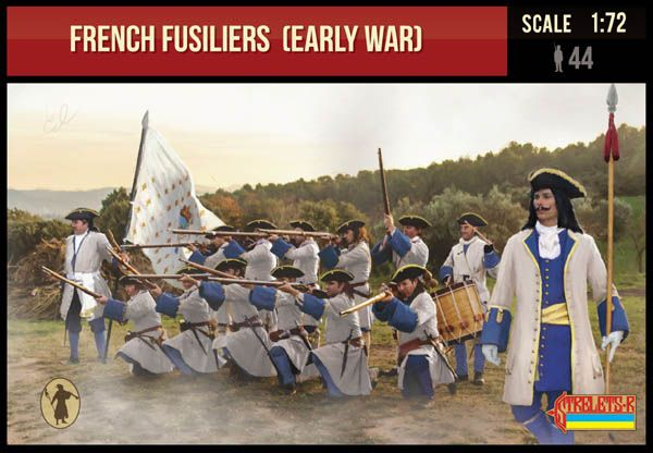 STRELETS 1/72 236 FRENCH FUSILIERS  EARLY WAR