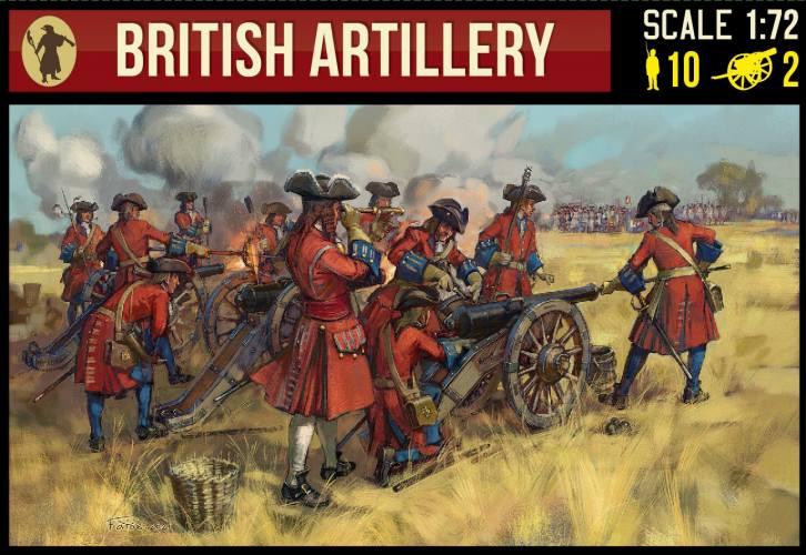 STRELETS 1/72 243 BRITISH ARTILLERY