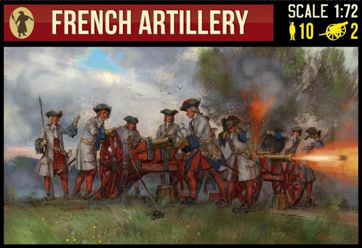 STRELETS 1/72 244 FRENCH ARTILLERY