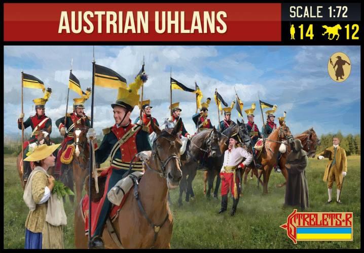 STRELETS 1/72 275 AUSTRIAN UHLANS