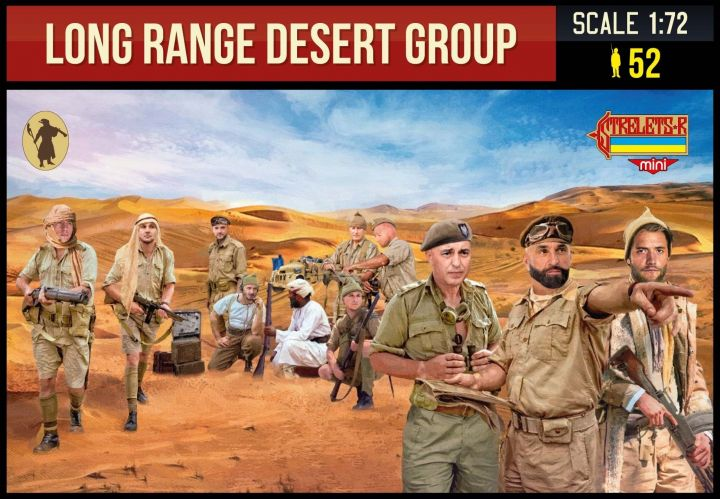 STRELETS 1/72 M144 LONG RANGE DESERT GROUP