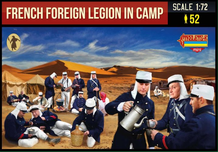 STRELETS 1/72 M146 FRENCH FOREIGN LEGION IN CAMP