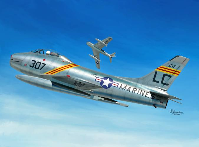 SWORD 1/72 72138 NORTH AMERICAN FJ-2 FURY
