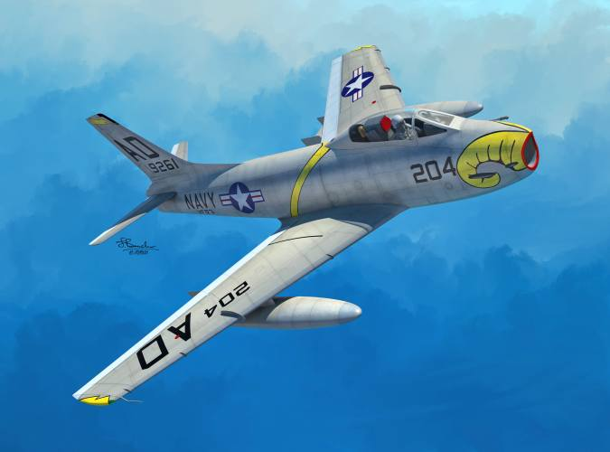 SWORD 1/72 72139 NORTH AMERICAN FJ-3/3M FURY