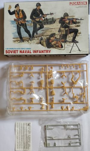 KINGKIT MODEL SCRAPYARD 1/35 DRAGON - 3005 SOVIET NAVAL INFANTRY WORLD ELITE FORCE SERIES - INCOMPLETE