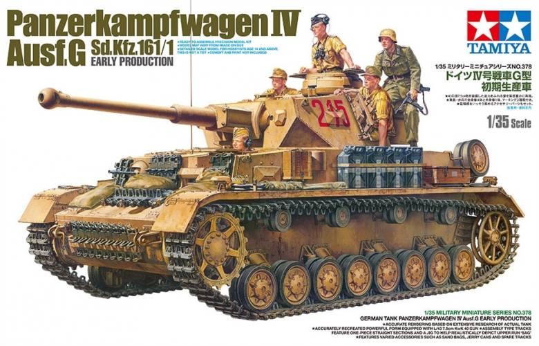 TAMIYA 1/35 35378 Pz.Kpfw.IV Ausf.G EARLY VERSION