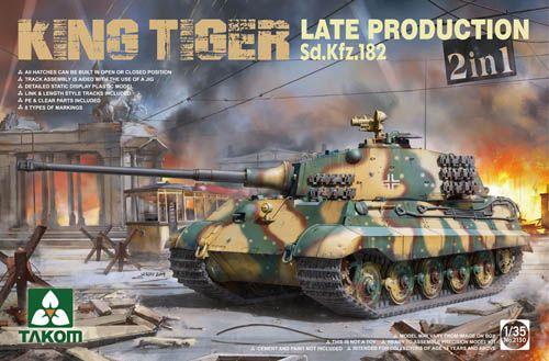 TAKOM 1/35 2130 KING TIGER LATE PRODUCTION SD.KFZ.182