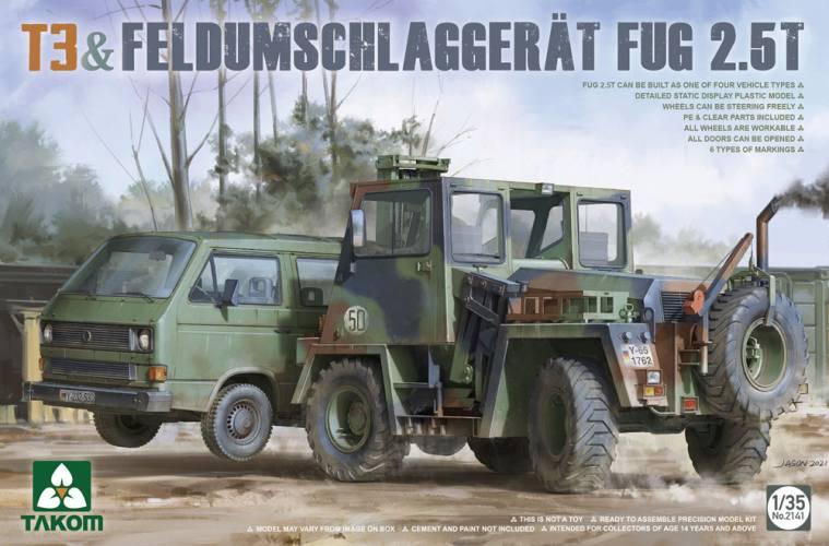 TAKOM 1/35 2141 T3   FELDUMSCHLAGGERAT FUG 2.5T