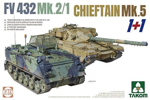 TAKOM 1/72 5008 fv432 mk.2/1   chieftain mk.5