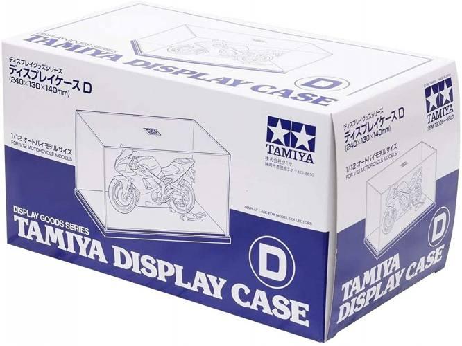 TAMIYA  73005 DISPLAY CASE D 240MM X 130MM X 140MM