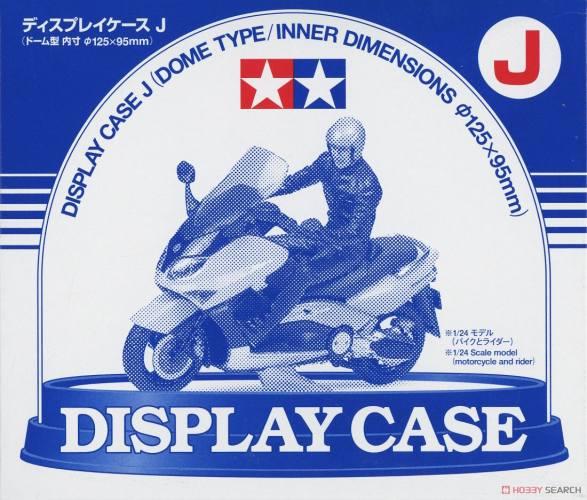 TAMIYA  73012 DISPLAY CASE J  DOME TYPE 125MM X 95MM