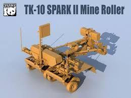 PANDA 1/35 TK-10 SPARK II MINE ROLLER