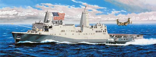 TRUMPETER 1/350 05616 USS NEW YORK LPD-21  UK SALE ONLY