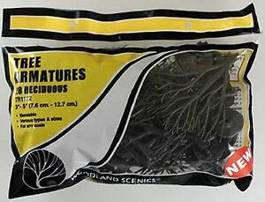 WOODLAND SCENICS  TR1122 TREE ARMATURES 28 DECIDUOUS