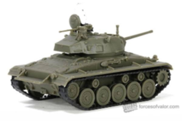FORCES OF VALOR 1/72 873014 U.S. M24 CHAFFEE