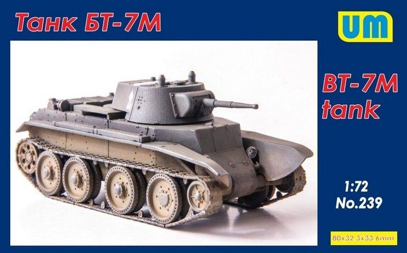 UNIMODEL 1/72 239 BT-7M TANK