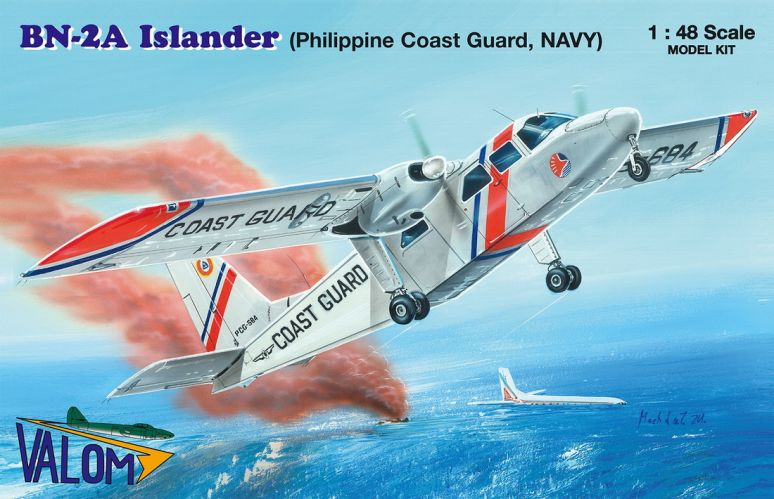 VALOM 1/48 48014 BRITTEN-NORMAN BN-2A ISLANDER  PHILIPPINE COAST GUARD. NAVY