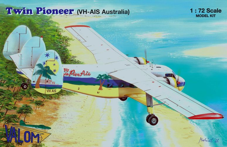 VALOM 1/72 72144 TWIN PIONEER  VH-AIS AUSTRALIA
