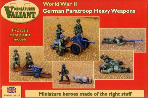 VALIANT MINIATURES 1/72 VM010 GERMAN PARA HEAVY WEAPONS WWII