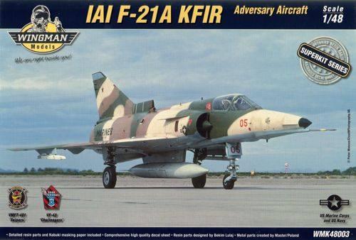 WINGMAN MODELS 1/48 WMK48003 F-21A LION KFIR