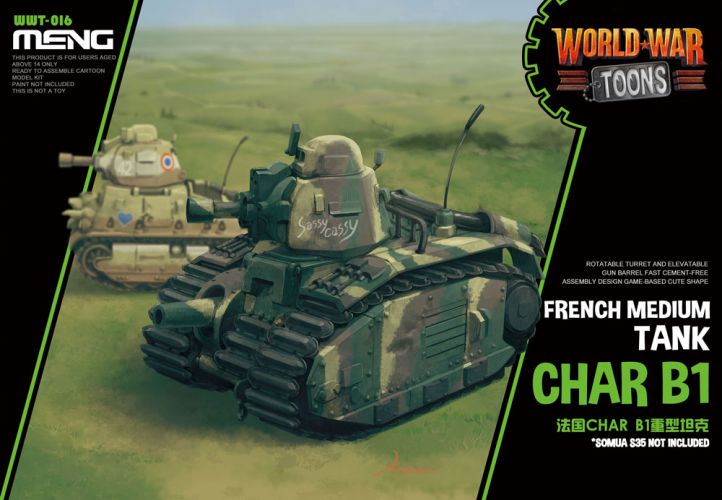 MENG  WWT-016 FRENCH CHAR B1