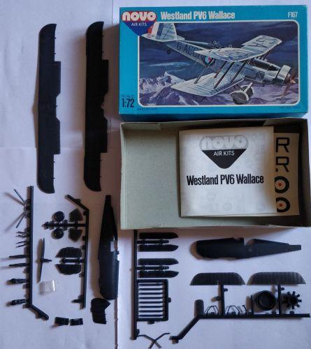 KINGKIT MODEL SCRAPYARD 1/72 NOVO - F167 WESTLAND PV6 WALLACE - POOR DECALS   INCOMPLETE