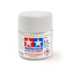 TAMIYA  81502 X-2 WHITE ACRYLIC PAINT  UK SALE ONLY