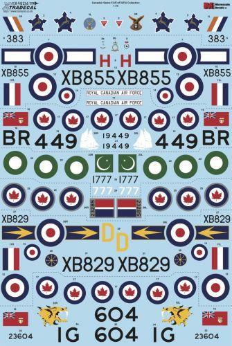 XTRADECAL 1/48 48216 CANADAIR SABRE F.2/F.4/F.5/F.6